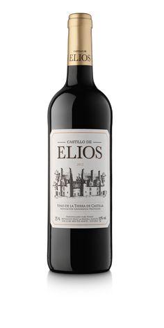 Castillo de Elios. Vino tinto de Castilla la Mancha.