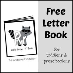 Free letter book of songs and rhymes for letter R