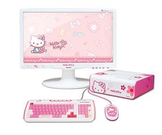 Hello Kitty Desktop Computer