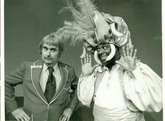 Bob Keeshan George Kirby Captain Kangaroo CBS 1975 Original Photo 9K-887