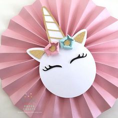Our Unicorn Backdrop is the perfect statement for your Unicorn party decor. D E T A I L S Each one of our rosettes are made with pastel shimmer card stock and the sweetest unicorn! S I Z E Set of 10 Unicorn Backdrop (Shown in pic includes: 3 L Party Unicorn, Unicorn Themed Birthday, Unicorn Baby Shower, Unicorn Party Supplies, Craft Party, Diy Party, Birthday Party Decorations, Party Ideas, Unicorn Crafts
