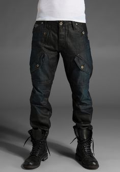 ::: Nice Men's Look : Combat Boots : Simple + Clean :::
