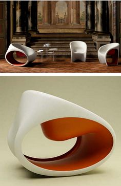 Late 1960s Arqvac: MT3 Chair. Design by Ron Arad