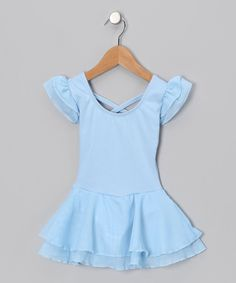 Take a look at this Light Blue Sophia Skirted Leotard - on #zulily today! This store is full of beautiful ballet clothes.