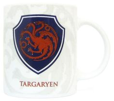 Game Of Thrones Mug Shield Targaryen - High quality Game of Thrones ceramic mug