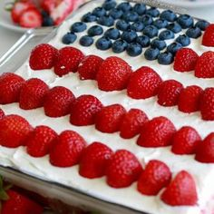 This Flag Cake topped with a no bake cheesecake is the perfect dessert for your 4th of July parties! The recipe comes together easily with your favorite white boxed cake mix (or your favorite homemade white cake) and the addition of a few simple ingredients. The cheesecake topping on this cake will have everyone askingContinue Reading...