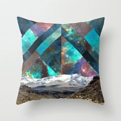 Sky is the Limit II Throw Pillow by Holly Press - $20.00