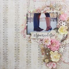 Blue Fern Studios: In the Mood Inspiration and Video Tutorial created by Lanette Erickson