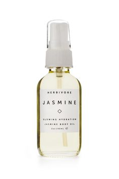 Named for the precious Jasmine Sambac oil that it contains the Jasmine Body Oil is a blend of pure natural botanical oils for glowing and hydrated skin with an intoxicating scent.  In contrast to cream moisturizers and lotions which tend to be high in water and emulsifying agents but low in effective ingredients Herbivore Botanicals body oils contain no fillers and are formulated with only effective natural ingredients. They absorb quickly to get moisture vitamins fatty acids and…