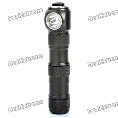 UltraFire H4 350-Lumen 3-Mode Memory White LED Flashlight (1 x CR123A / 1 x 17670). Note: We are currently unable to ship to addresses in HongKong, mainland of China. Brand: UltraFire Model: H4 Emitter Brand: Cree LED Type: XPE BIN: R5 Color: White Number of Emitter: 1 Voltage Input: 0.9~4.2V (booster circuit) Battery Configuration: 1 x CR123A batteries or 1 x 17670 battery (not included) Circuitry: Digital Regulated 700mA Current Output Brightness: 350LM Runtime: 60 minutes (manufacturer…