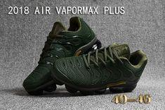 7fcb2689519b New Nike Air Vapormax TN Plus 2018 Green Gold for Men
