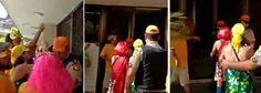 """Um vídeo viralizou nas redes sociais neste sábado 25 ao mostrar policiais militares de Pernambuco entrando em um prédio no centro do Recife para apreender material do bloco de carnaval """"Troça Carnavalesca Empatando Tua Vista""""; o bloco, que é crítico ao governo de Michel Temer e aos gestores de Pernambuco, Paulo Câmara, e do Recife, Geraldo Júlio, ambos do PSB, iria desfilar durante o Galo da Madrugada; """"Policiais sem mandado, sem base legal, apreenderam fantasias. Em 2017&quot..."""