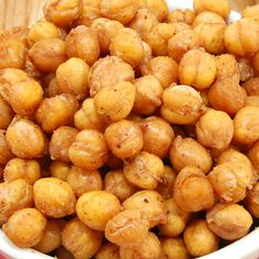 Oven Roasted Chickpeas with Moroccan Spices