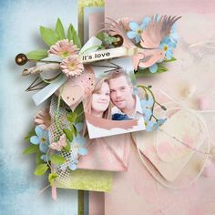 Love letters kit by Designs by Brigit #thestudio #digitalscrapbooking