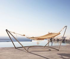 La Seora Hammock, beautifully designed and would work perfect under some trees in the yard.