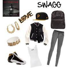 I want a swagg style! Outfits Teenager Mädchen, Swag Outfits For Girls, Teenage Girl Outfits, Cute Outfits For School, Tomboy Outfits, Dope Outfits, Summer Outfits, Swag Style, My Style