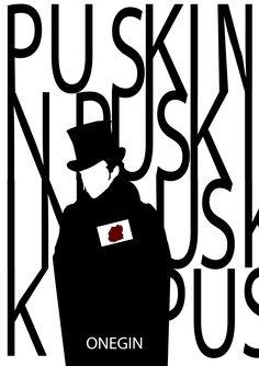 Puskin: Onegin book cover