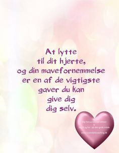 ❤ En husker til mig selv ❤ Heart Quotes, Words Quotes, Wise Words, Me Quotes, Sayings, Sweet Words, Love Poems, Cool Words, Are You Happy