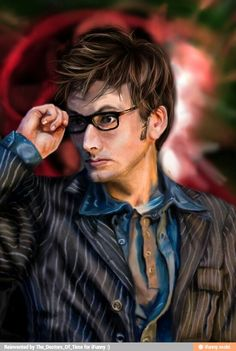Tenth doctor fanart fanmade david tennant drawing