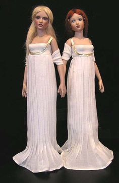 Rio and Electra dolls, by Helen Kish. Had both. Preferred Electra. Look great redressed !