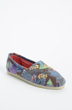 TOMS 'Classic - Faded Tropical' Slip-On (Women) available at #Nordstrom $53.95