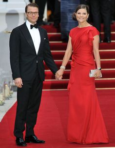 The Crown Princess Victoria and Prince Daniel