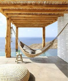Waking up here on a Saturday morning. Tag who you'd like to be here with.  via @myinterior #View #ViewOfTheDay #Gentlemen #Hammock #Weekend #Relax #Travel #Goals #Luxury #Lifestyle