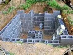 Diaporama - How to Build an Underground Root Cellar - YouTube
