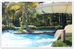 Coqui Water Park at El Conquistador Resort & Las Casitas Village. Puerto Rico.