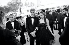 Lucky Blue Smith & Barbara Palvin - Festival de Cannes #amfARCannes #lorealcannes2016