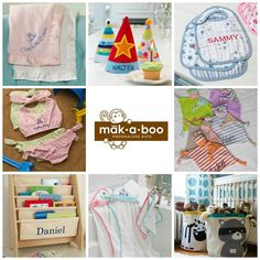 Personalize Baby Gifts