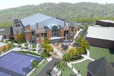 california university of pennsylvania | Artist concept drawing of California University of Pennsylvania's new ...