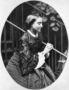 Christina Rossetti by Charles Lutwidge Dodgeson, 1863