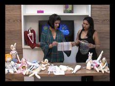 Aprenda a fazer coelhinho de pano com a artesã Lilian Gomes - YouTube