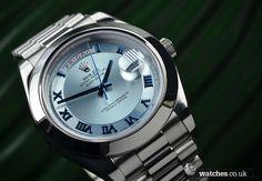 Rolex Day Date II Platinum Watch - 218206 #rolex#rolexwatches #daydate #daydate2 #daydateII #platinum