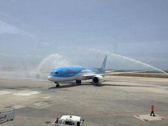 Arke fly dreamliner @Curacao.