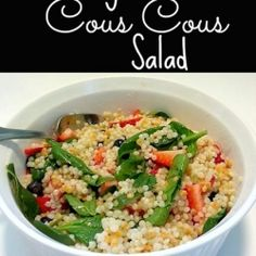 Berry Cous Cous Salad recipe