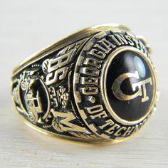Georgia Tech class ring