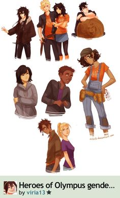 Genderbend... Percabeth is still the best!!