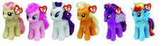 Amazon.com: Ty My Little Pony Friendship Magic 6 Inch Beanie Babies Collection - Plush Doll 6 Pieces Doll Set (Rarity, Pinkie Pie, Applejack, Fluttershy, Rainbow Dash and Twilight Sparkle): Toys & Games