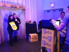 Cutty Sark Photo Station at Top Tender Bar Tending Event!
