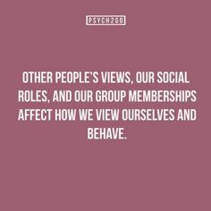 Peoples views