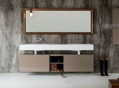 Miroir mural avec cadre pour salle de bain Miroir rectangulaire - FALPER