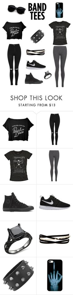 """""""Untitled #119"""" by dogiii ❤ liked on Polyvore featuring Topshop, Theory, NIKE and Kenneth Jay Lane"""