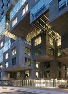 DNB Bank Headquarters - Oslo, Norway - 2012 - MVRDV #headquarters #office #mvrdv #oslo #norway