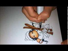 Colorazione con Copic : Christmas magnolia WW13