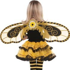 C would love these wings. . . Bumblebee Fairy Wings - Party City