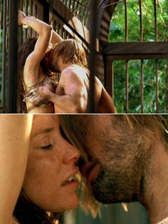Lost - Sawyer and Kate. This was pretty awesome too. Might have to download this episode....