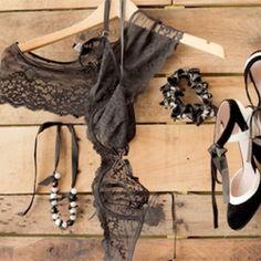 DIY: stylish lace lingerie