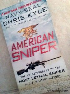 American Sniper by Chris Kyle was a great read!